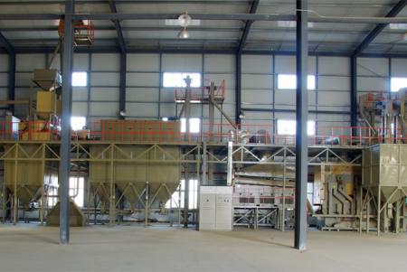 玉米种子加工生产线