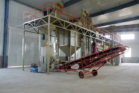 小麦种子加工生产线