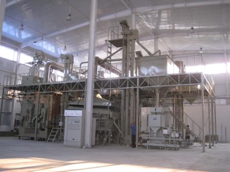10T/H Wheat processing line